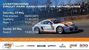 Competition102 GT4 European Series - Race 1 - Zandvoort 2015