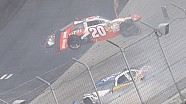Joey Logano flips at Dover
