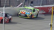 Kyle Busch crashes - Michigan