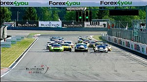 Moscow Main Race highlights  - Blancpain Sprint Series