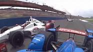 IndyCar onboards: Fontana 2015