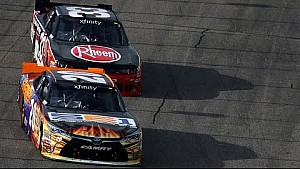 Dillon vs Hamlin at New Hampshire