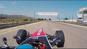 Formula E pre-season testing - Mahindra Racing