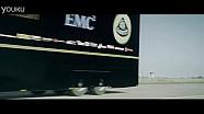卡车飞跃路特斯F1赛车