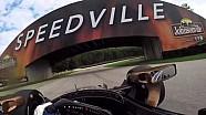 On Board - Josef Newgarden en vue casque à Road America