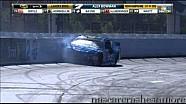 Aric Almirola crashes at New Hampshire