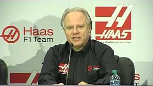Romain Grosjean joins Haas F1 Team press conference