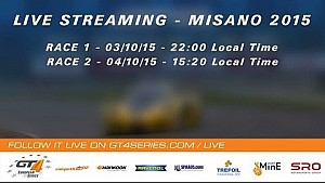 GT4 European Series - Race 1 - Misano 2015