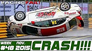 Racing  and Rally Crash Compilation Week 48 November 2015