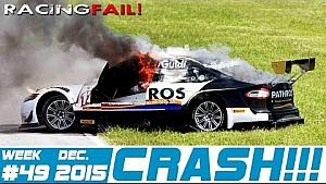 Racing and Rally Crash Compilation Week 49 December 2015