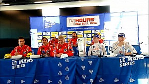 4 Hours of Red Bull Ring - Race Press Conference LMP3, LMGTE, GTC