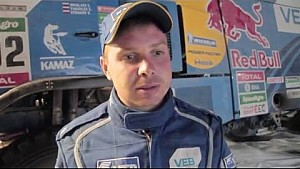 Kamaz-Master team at Dakar 2016 - Jan 13