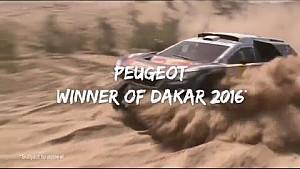 Dakar 2016 : Peugeot Victory