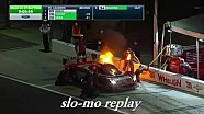 Возгорание прототипа Corvette на