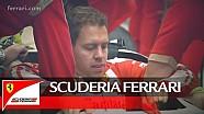 Vettel's 2016 Scuderia Ferrari seat fitting