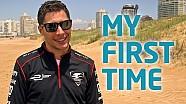 My First Time! w/ Loic Duval - Formula E