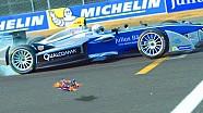 Drone (Bruno Senna) vs F.E (Scott Speed)