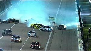 Dillon triggers big wreck at Texas