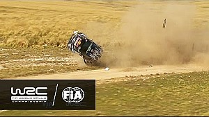 Jari-Matti Latvala's spectacular crash in Rally Argentina