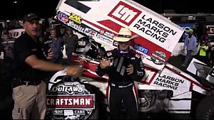 2016 World of Outlaws Craftsman Sprint Car Series Texas Outlaw Nationals Victory Lane