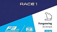 F3 Europe - Hungaroring 2016 - Course 1