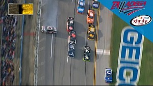 Sadler wins 'Dega with help of video evidence