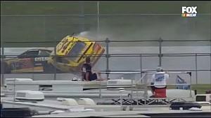 NASCAR Sprint Cup, Talladega: massive crash of Chris Buescher