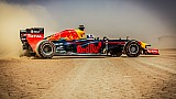 Red Bull Racing F1 Show Car Run - Jordan