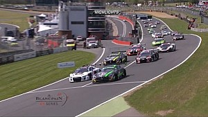 Blancpain GT Series - Sprint Cup - Brands Hatch Qualifying Race Short Highlights