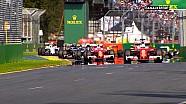 Les Spécialistes F1 - Les départs des 4 premiers GP