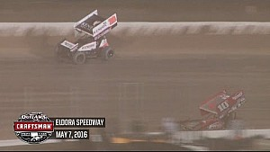 World of Outlaws Craftsman Sprint Cars Eldora Speedway May 7th, 2016 | HIGHLIGHTS