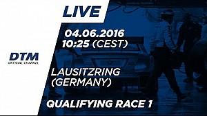LIVE: Qualifying (Race 1) - DTM Lausitzring 2016