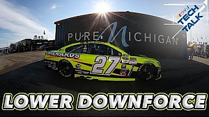 NSCS preps for low downforce at Michigan