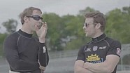 Brad Keselowski tests an Indycar at Road America