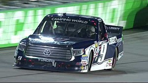 Byron conquers final restart, wins in Iowa