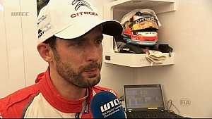 INTERVIEW -  José María López pensive after going fastest in today's second WTCC session
