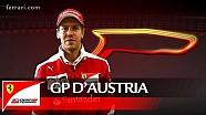 Il GP d'Austria con Sebastian Vettel - Scuderia Ferrari 2016