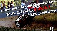 Carreras & Rally Crash compilación semana 26 de junio de 2016