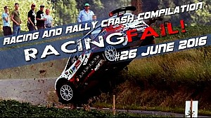 Racing and Rally Crash Compilation Week 26 June 2016