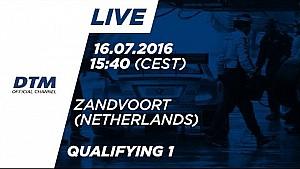 Re-LIVE: Qualifying (Race 1) - DTM Zandvoort 2016