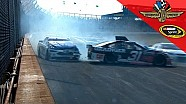 Big wreck claims multiple cars at Indy