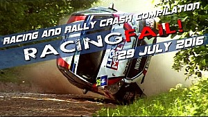Racing and Rally Crash Compilation Week 29 July 2016