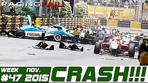 Racing and Rally Crash Compilation Week 47 November 2015