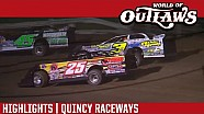 World of Outlaws Craftsman Late Models Quincy Raceways July 28th, 2016 | HIGHLIGHTS