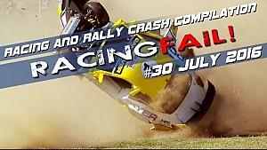 Racing and Rally Crash Compilation Week 30 July 2016