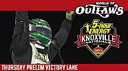 2016 World of Outlaws Craftsman Sprint Car Series Victory Lane | Knoxville Nationals | Night 2