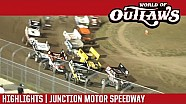 World of Outlaws Craftsman Sprint Cars Junction Motor Speedway August 16th, 2016 | HIGHLIGHTS