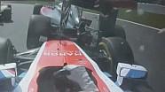 Belçika GP: Manor pilotu Wehrlein'ın Button'ı biçişi