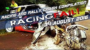 Racing and Rally Crash Compilation Week 34 August 2016