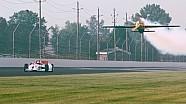 IndyCar Uçağa karşı!